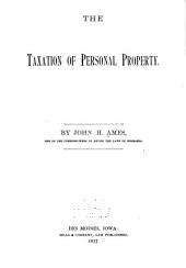 The Taxation of Personal Property