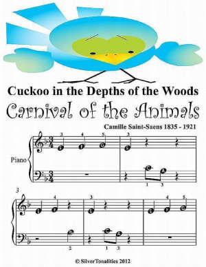 Cuckoo In the Depths of the Woods   Beginner Tots Piano Sheet Music