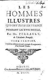 Les Hommes illustres qui ont paru en France, pendant ce siècle, etc. L.P.