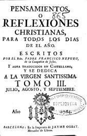 Pensamientos o Reflexiones christianas para todos los dias del año