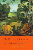 The Return of Lucretius to Renaissance Florence