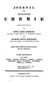 Journal für Chemie und Physik. Hrsg. von J(ohann) S(alomon) C(hristoph) Schweigger: Band 103