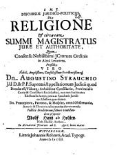 Disp. inaug. de brachio seculari