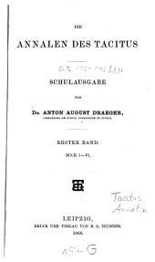 Annalen: Buch I - VI, Volume 1