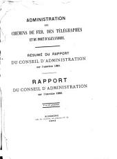 Report on the Egyptian State Railways & Telegraphs and Light Railways of Egypt