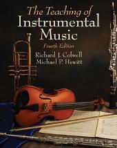 Teaching of Instrumental Music: Edition 4