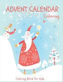 Advent Calendar Coloring   Coloring Book for Kids PDF