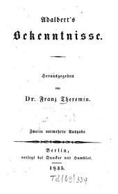 Adalbert's Bekenntnisse