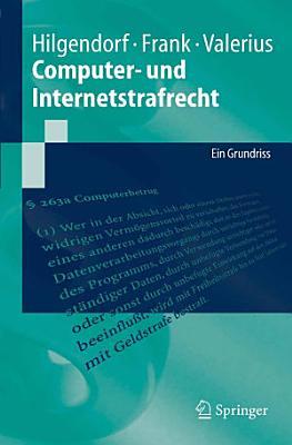 Computer  und Internetstrafrecht PDF