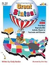 Great States!: Over 200 First-Rate Reproducible Activity Sheets to Fascinate and Educate