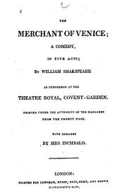 The British Theatre: Or, A Collection of Plays, which are Acted at the Theatres Royal, Drury Lane, Convent Gardin, Haymarket, and Lyceum, Volume 20