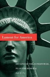 Lament For America Book PDF