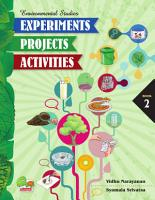 Environmental Studies  Experiments  Projects  Activities  Book 2 PDF