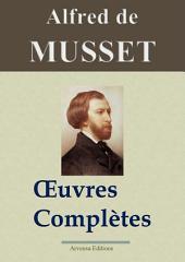 Alfred de Musset : Oeuvres complètes — 78 titres (annotés et illustrés)
