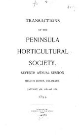 Transactions of the ... Annual Session of the Peninsula Horticultural Society: Part 2