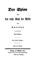 Der Spion oder das rothe Buch der W  lfe PDF