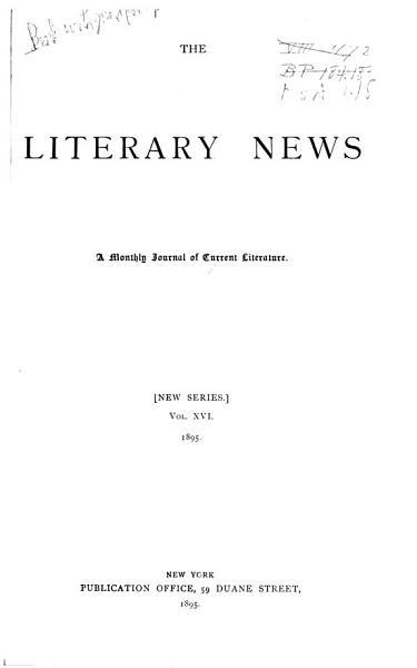 Download Literary News Book