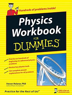 Physics Workbook For Dummies Book