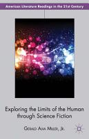 Exploring the Limits of the Human through Science Fiction PDF