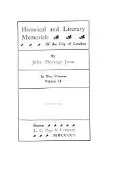 Historical and literary memorials of the city of London: Volume 2