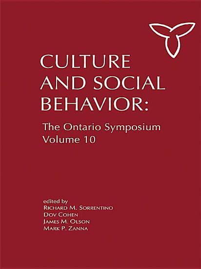 Culture and Social Behavior PDF
