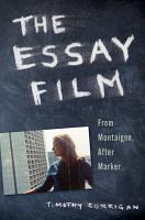 The Essay Film PDF