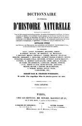 Dictionnaire universal d'histoire naturelle: résumant et complétant tous les faits présentés par les encyclopédies ...