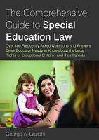 The Comprehensive Guide to Special Education Law PDF