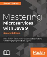 Mastering Microservices with Java 9 PDF
