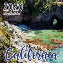 California 2020 Mini Wall Calendar