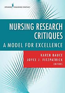 Nursing Research Critiques PDF