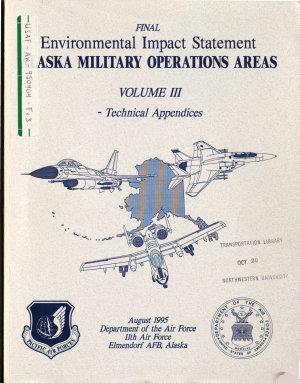 Elmendorf Air Force Base  AFB   Alaska Military Operations Area  MOA