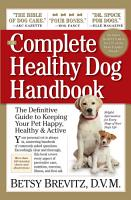 The Complete Healthy Dog Handbook PDF