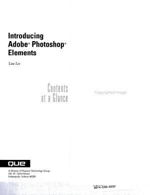 Introducing Adobe Photoshop Elements