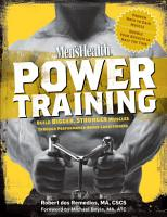 Men s Health Power Training PDF