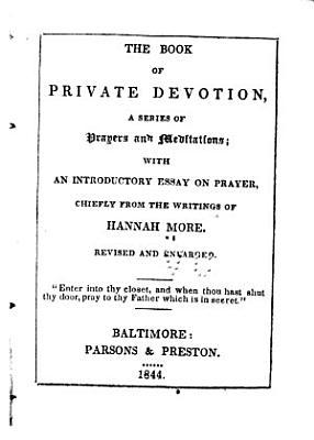 The Book of Private Devotion