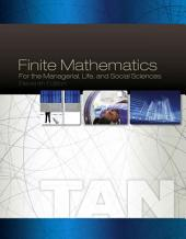 Finite Mathematics for the Managerial, Life, and Social Sciences: Edition 11