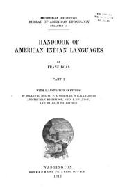Handbook of American Indian Languages: Issue 1
