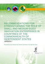 Recommendations for Strengthening the Role of Innovative Small and Medium-sized Enterprises in Countries of the Commonwealth of Independent States