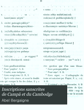 Inscriptions sanscrites de Campa et du Cambodge