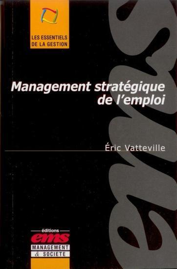 Management strat  gique de l emploi PDF