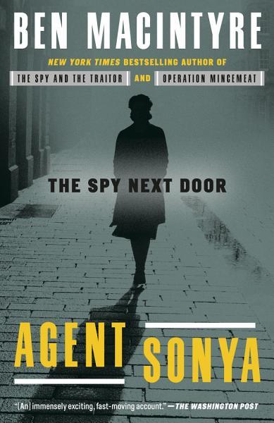 Download Agent Sonya Book