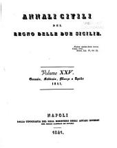 Annali civili del regno delle Due Sicilie: Volumi 25-30