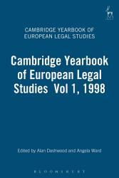 Cambridge Yearbook of European Legal Studies Vol 1  1998 PDF
