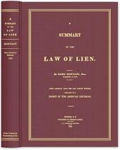 A Summary of the Law of Lien