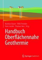 Handbuch Oberfl  chennahe Geothermie PDF