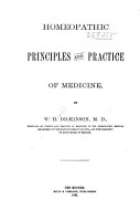 Homeopathic Principles and Practice of Medicine PDF