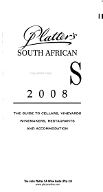 Platter's South African Wines, 2008