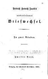 Friedrich Heinrich Jacobi's auserlesener Briefwechsel: Band 2