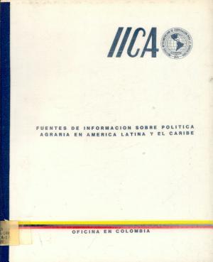 Fuentes de Informacion Sobre Politica Agraria en America Latina y el Caribe PDF